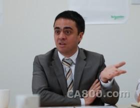 """首席技术官Cyril诠释施耐德电气""""为中国""""创新情怀"""