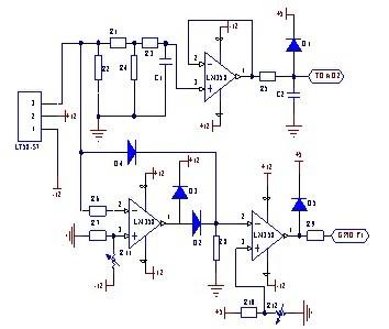 交流电流检测与保护电路