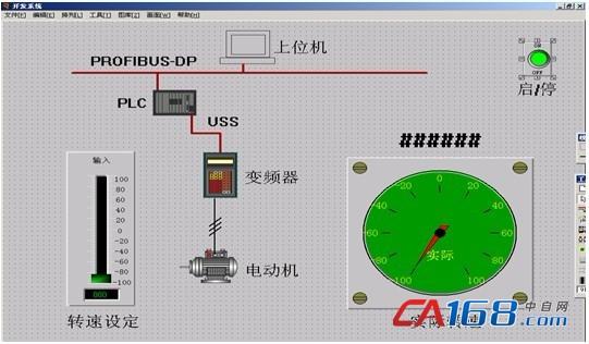 基于profibus-dp现场总线的远程调速系统设计