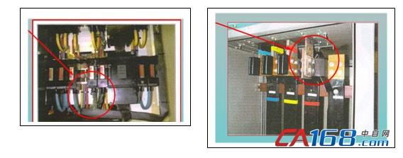 开关柜中零线电流过大导致过热的情况