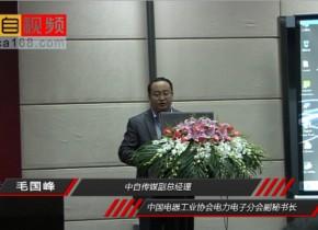 2012年自动化大会-毛国峰副总经理致辞
