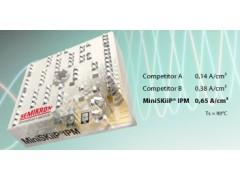 MiniSKiiP IPM電流密度比標準IPM高50%