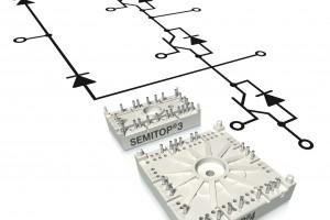 賽米控三電平光伏和UPS逆變器應用最優隔離功率模塊SEMITOP®