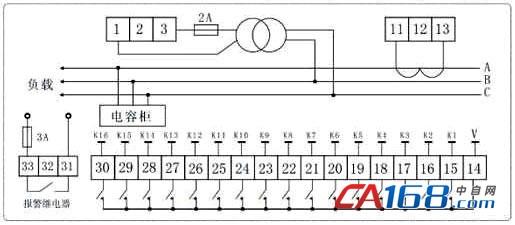 华德高压无功补偿控制器rc2000g系列