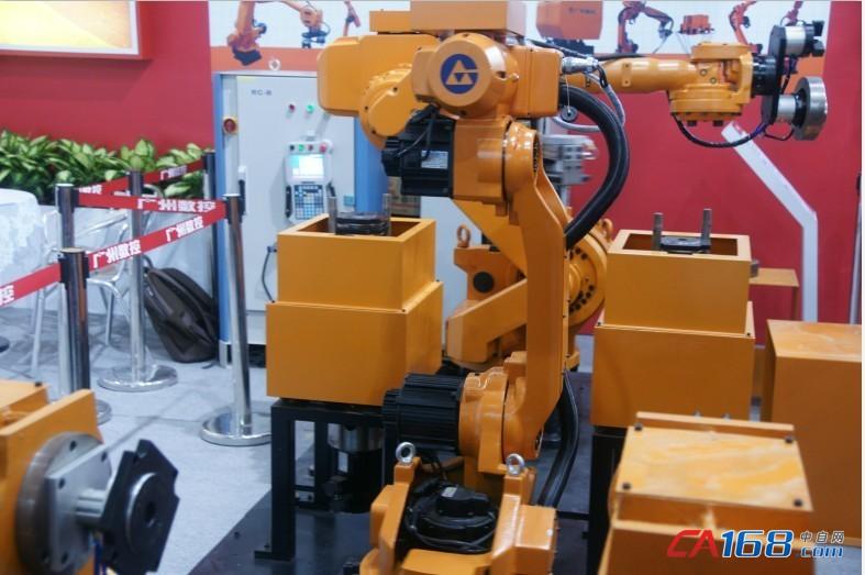 数控机器人-广州数控亮相国际工业自动化技术及装备展览会