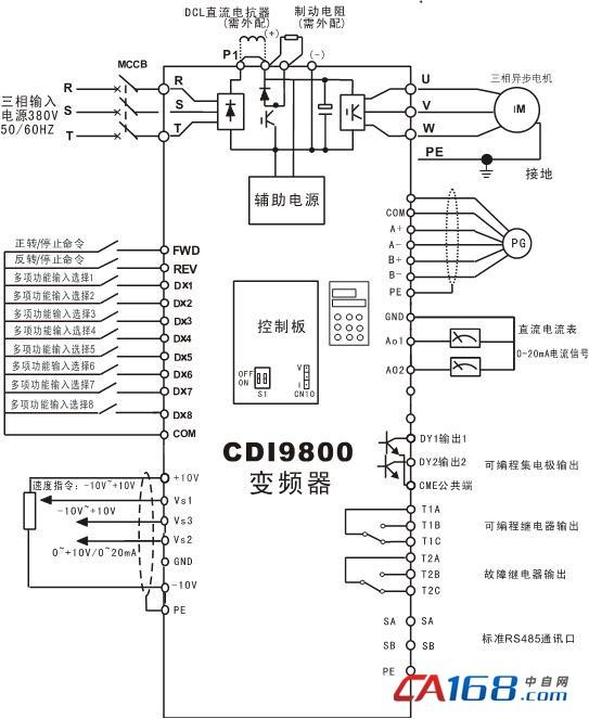 德力西矢量变频器cdi9800系列