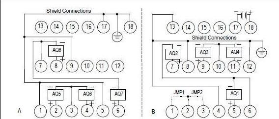 该plc的接线图如下所示