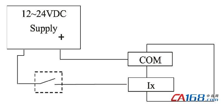 输出电路   注:输入端口的光耦是