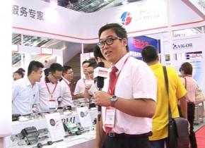 第十七届华南展罗升展示直线电机配件