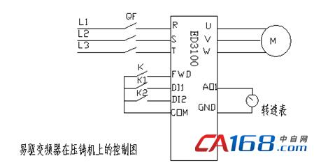 易驱变频器在压铸机的应用