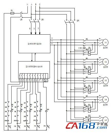 多泵恒压供水控制系统结构
