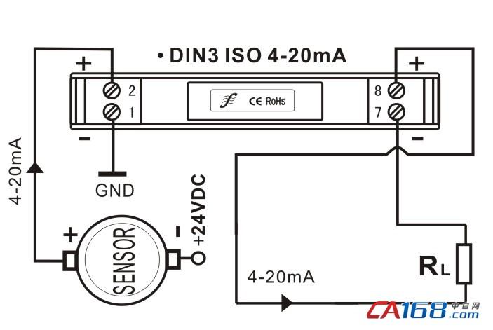 单路4-20ma电流环
