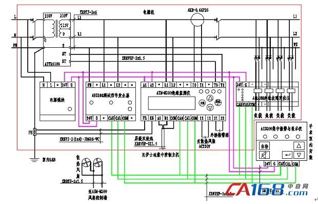 单相隔离变压器原理图