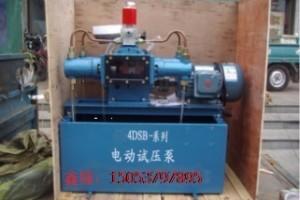 热力公司首选电动试压泵打压泵报价