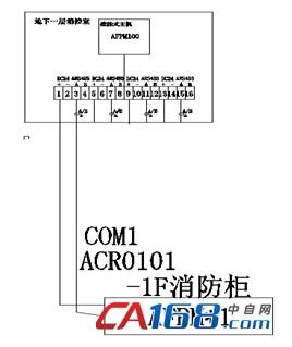 afpm100/b消防设备电源监控系统在柳州白莹劳保用品有限公司的应用