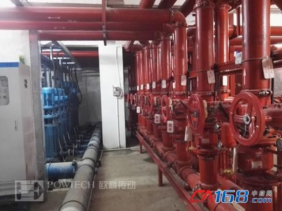 欧科变频器在中央空调系统上的应用