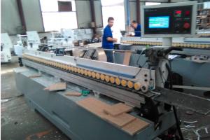 伟创PLC HMI在木工机械--封边机上的应用