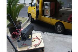 上汽大通房车商务车专用一体机逆变器隔离器车载空调