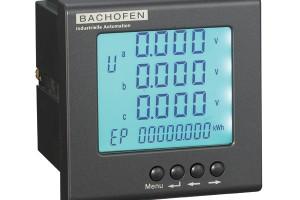 BACHOFEN-巴赫芬,多功能电力仪表(LCD)增强型