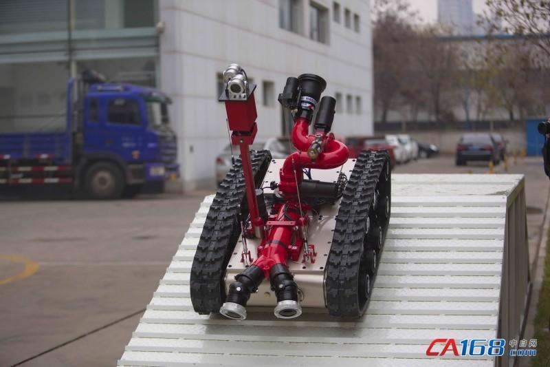 备有限公司侦测消防机器人-国产特种机器人的突围之路 访中信重工