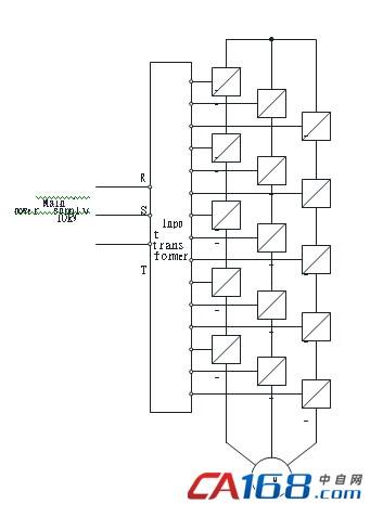 图十三 10kv 主电路结构图