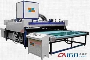 四方电气CA100伺服系统应用在夹层玻璃生产线上