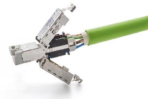 TE Connectivity 发布新款工业连接器IP20 RJ45 Cat 6A