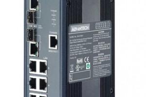 6G+2G Combo 端口宽温网管型工业以太网交换机