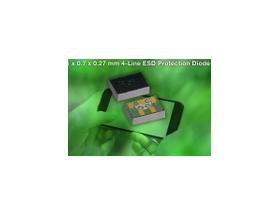 Vishay超小尺寸4路ESD保护二极管实现业内首次对手机中USB3.0接口的保护