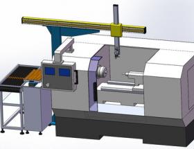台达机床上下料解决方案助力提升车床加工效率