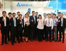 台达亮相2017中国国际机床展 展示六大数字化机床整合解决方案