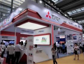 三菱电机以超高人气惊艳亮相深圳国际智能装备展