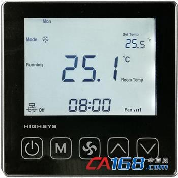 液晶空調溫控器