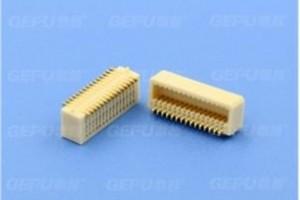 0.8mm侧插板对板连接器母座
