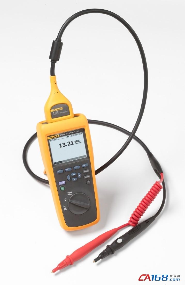 福禄克bt508蓄电池分析仪在电车上的应用
