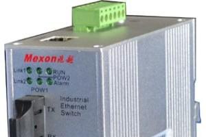 MIE-5210 2光6电自愈环工业以太网光纤交换机