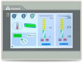 海为PLC&HMI在巴黎汇丰银行暖通空调控制系统上的应用