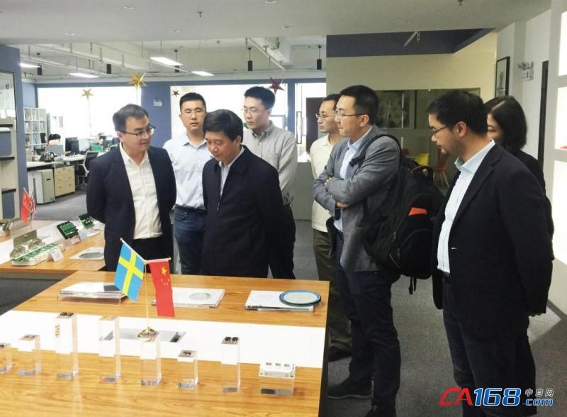 国家集成电路产业投资基金总裁丁文武一行调研基本半导体