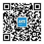 说明: AHTE微信公众号二维码