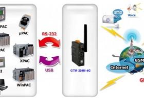 【泓格】新产品上市: GTM-204M-4GC 工业级4G LTE调制解调器