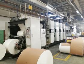 易能电气EN500系列变频印刷机上的应用