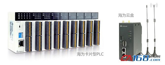 2019海为PLC 云盒卡片PLC 超薄PLC