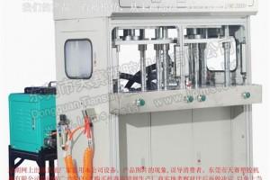 LPMS 2000H侧式双工位气液增压型低压注胶机