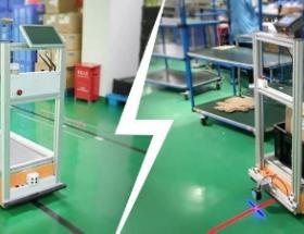 步科首款AGV控制器,在磁导航、色带导航AGV的应用