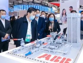 西門子、ABB、三菱電機、施耐德電氣在進博會上展示硬實力!