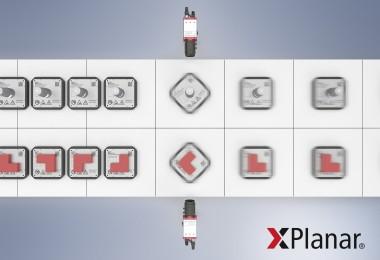 悬浮式 360 度动子旋转扩大了非接触式和智能化产品输送系 统的应用范围