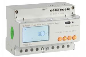 安科瑞DTSD1352导轨式三相电能表基本电参量测量